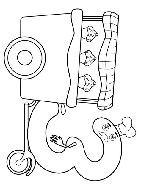 baby tv downloads coloring pages characters for printing charlie and the numbers theme