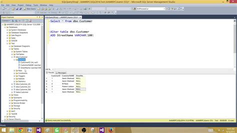 sql tutorial query multiple tables how to add multiple columns to a sql server table in
