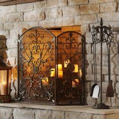 candle fireplace screen 25 best ideas about candle fireplace on