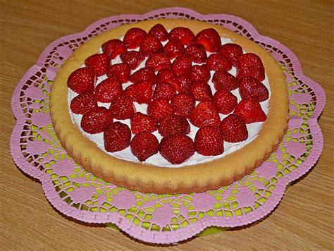 quark erdbeer kuchen erdbeerkuchen mit quark pdrjf chefkoch de