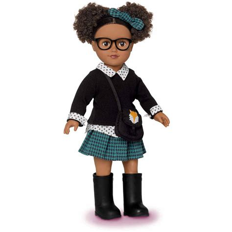 in black 2 doll my as hairstylist 18 quot doll walmart