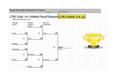tournament bracket templates gray soccer baseball tournament bracket