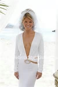 Lori loughlin wearing gucci wedding dress lori loughlin on celebrity