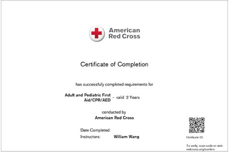 cross lifeguard certification card template replace lost american cross cpr card