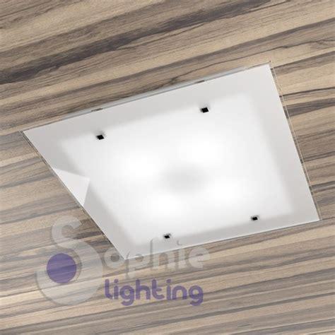 plafoniere moderne da soffitto ladario soffitto plafoniera moderna vetro satinato