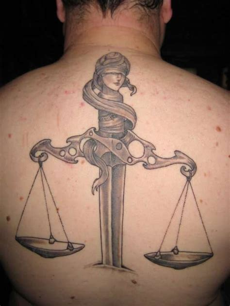 31 beautiful justice scale tattoos