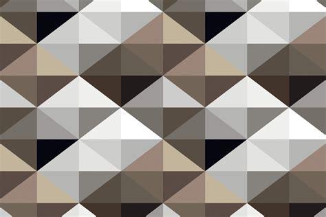 cool brown geometric pattern wall mural muralswallpaper