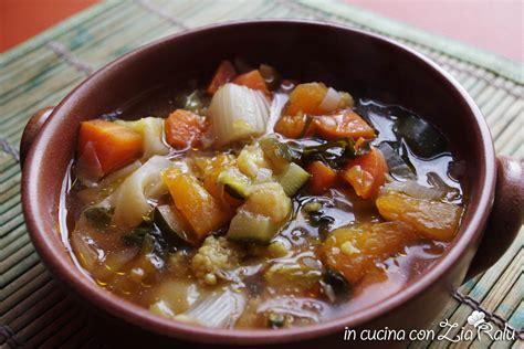 cucinare minestrone minestrone autunnale in cucina con zia ral 249