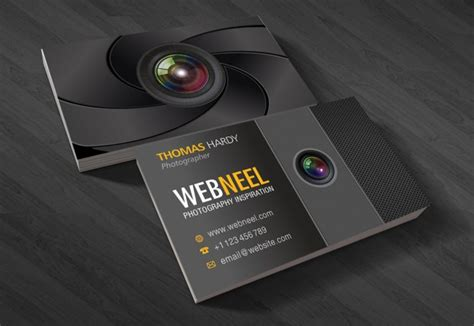 photography business card design template 40