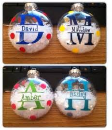 1000 ideas about personalized christmas ornaments on