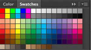 color swatch photoshop create custom color swatches