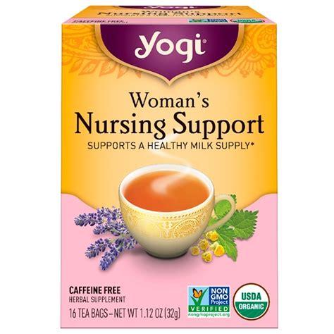 Yogi Detox Tea Nursing by Yogi Tea S Nursing Support Caffeine Free 16 Tea