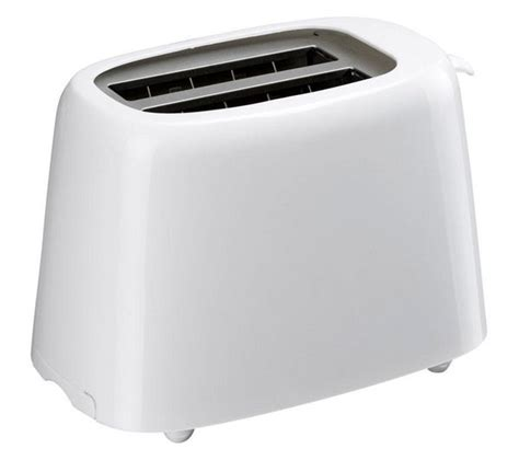 Small White Toaster Buy Essentials C02tw13 2 Slice Toaster White C15jkw13