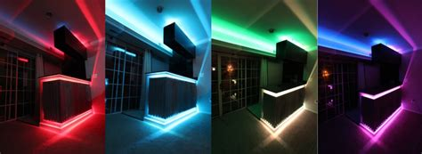led home design lighting decoration inspired led colored leds home bar phoenix by
