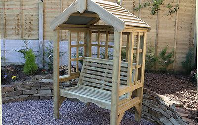 solid 3 seater garden arbour tanalised outdoor bench wooden garden arbour trellis garden seat with roof wooden