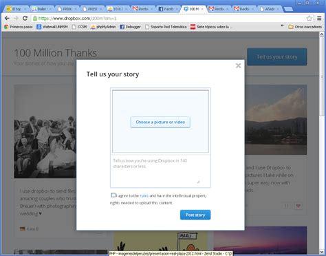 dropbox gb dropbox regala hasta 100 gb gratis por tu historia un