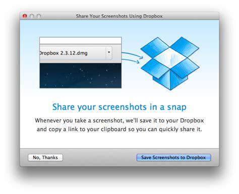 dropbox mac dropbox for mac beta brings automatic screenshot sharing