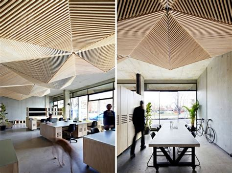 Origami Interior Design - design idea inspired by the origami suspended