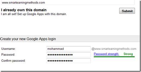 blog tips create email address   google apps