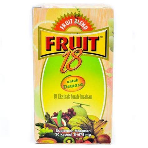 Vitamin Fruit 18 Dewasa 10 Merk Vitamin Untuk Daya Tahan Tubuh Dewasa Terbaik