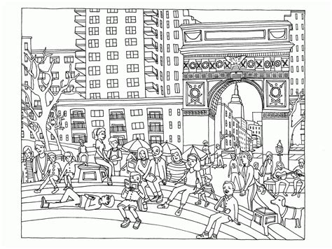 coloring book page of a city coloring page lego city coloring home