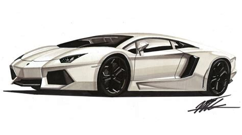 lamborghini car drawing car drawing lamborghini aventador lp700 4