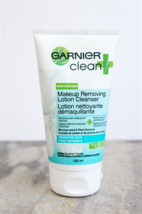 Garnier Clear Scrub tested garnier clean plus cleansing lotion the best of this