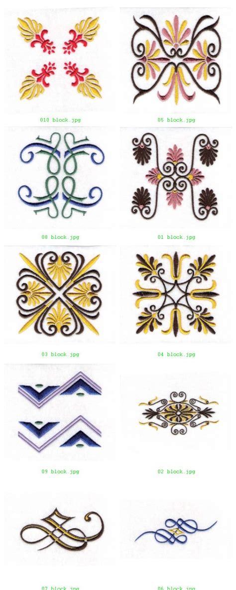 decorative blocks machine machine embroidery designs decorative blocks set