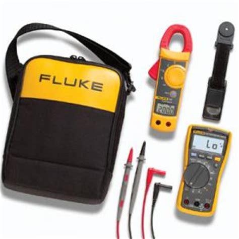 Fluke 117 323 Electricians Multimeter Combo Kit fluke 117 323 kit multimeter combo kit for electricians