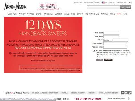 Neiman Marcus Sweepstakes - neiman marcus 12 days of handbags sweepstakes sweepstakes fanatics
