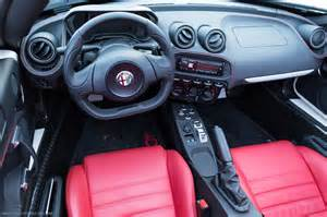 Alfa Romeo Driving Gloves Does The Alfa Romeo 4c Spider Instill In The Driver
