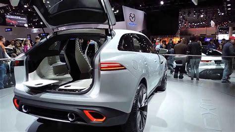 jaguar jeep 2018 jaguar suv concept at the detroit auto show 2014 youtube