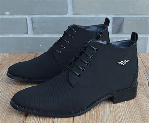 best oxford dress shoes fashion mens casual high top pointy toe chukka dress shoes