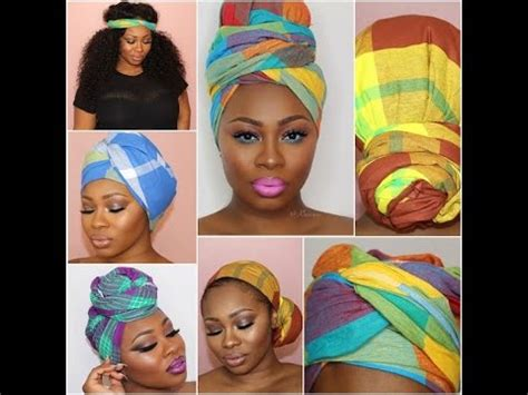new styles guide to tying nigerian traditional head tie panji tutorial how to tie a head scarf youtube