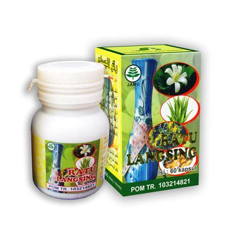 Herbal Ratu Langsing Herbalindo Ratu Langsing Herbal Pelangsing 60 Kapsul