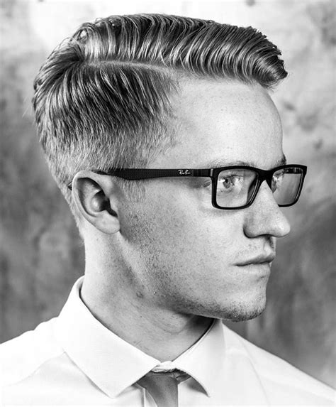 gentlemens hair styles the side part haircut a classic style for gentlemen page 2