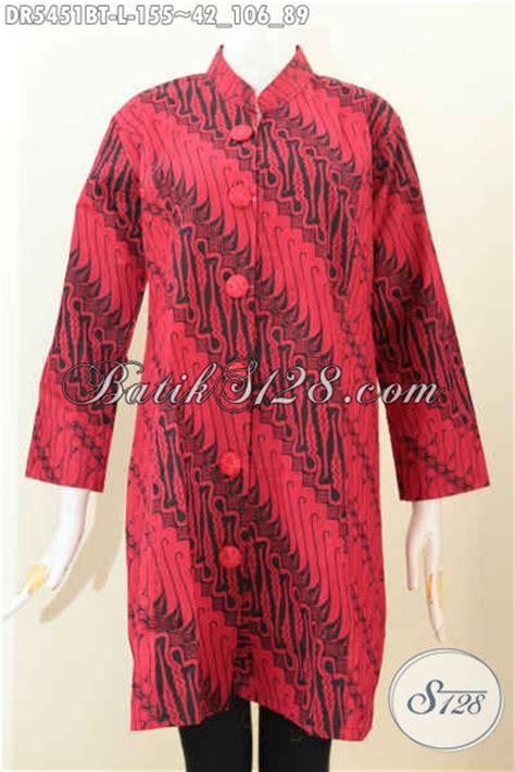 Istimewa Pakaian Wanita Dress Mimi batik dress halus kwalitas istimewa warna monokrom baju batik masa kini model kerah shanghai