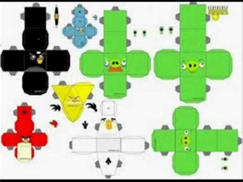 Origami Angry Birds - como hacer angry birds de papel imagen