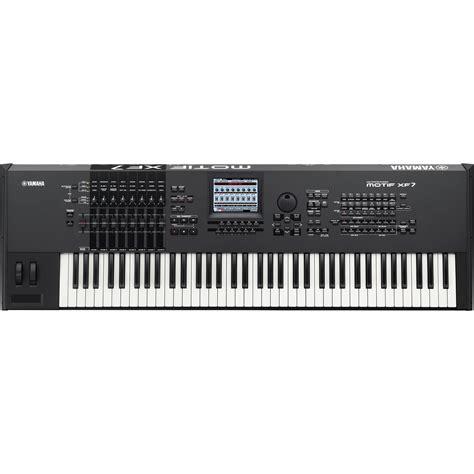 Keyboard Yamaha Motif Xf7 Yamaha Motif Xf7 Workstation Keyboard Motifxf7 B H Photo
