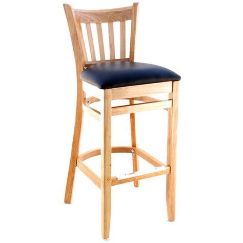 vertical slat wood bar stool for sale restaurant barstools premium us made vertical slat wood bar stool