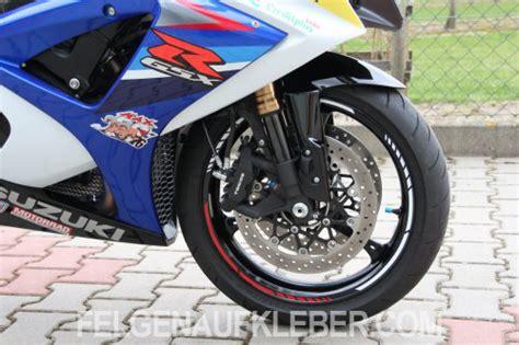 Felgenaufkleber Motorrad Anbringen by Felgenrandaufkleber Und Felgenaufkleber F 252 R Suzuki Motorr 228 Der