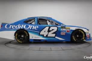 credit one 2018 kyle larson paint scheme credit one bank racing news