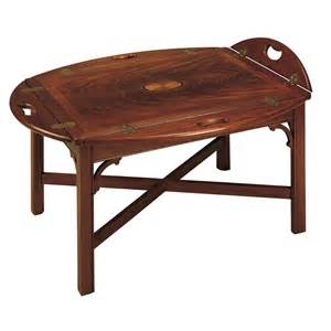 buy copley square butler tray table by hekman from www