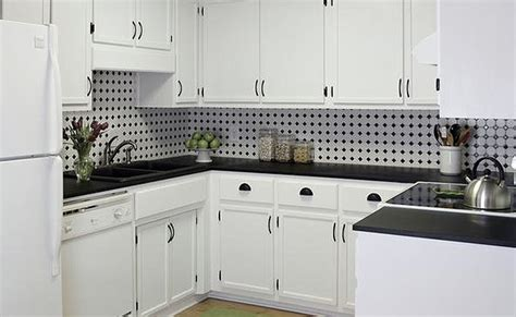 Black And White Kitchen Backsplash | black and white backsplash tile photos backsplash com