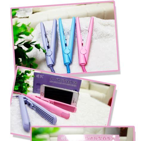Catok Mini Pink mini hair straighteners catok rambut mini pink