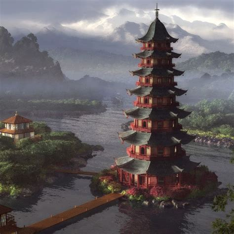 chinese architecture on pinterest japanese architecture chinese pagoda painting pagodas temples and shrines