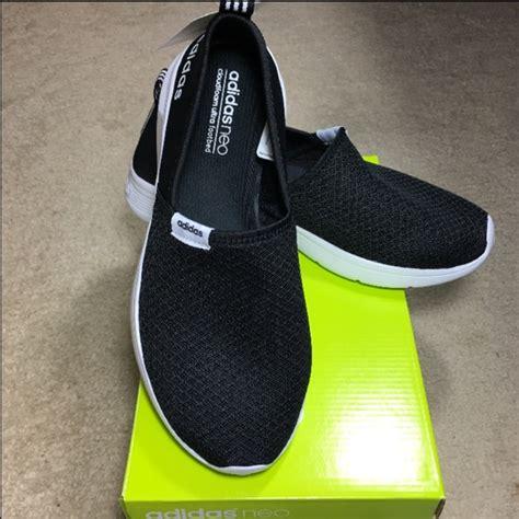 Adidas Neo Slip On Black By D new adidas neo lite slip on shoes chic black 9 5 adidas