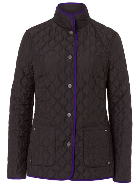 Reversible Quilted Jacket by Basler Reversible Quilted Jacket In Purple Lyst