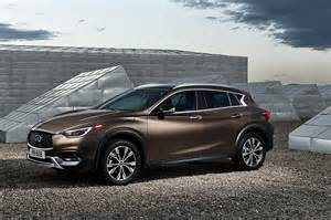 What Company Makes Infiniti Infiniti Qx30 Crossover Makes Its Global Debut