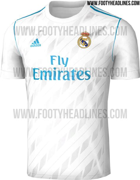 Jersey Real Madrid Away 2018 New Season real madrid 17 18 home kit leaked footy headlines
